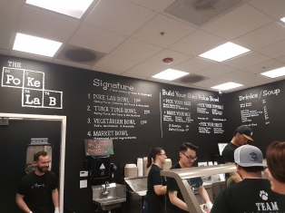 Poke Lab Menu