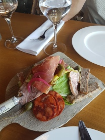 Local pork platter