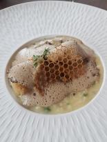 Monkfish & truffle risotto
