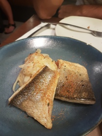 Seabass, spicy noodle